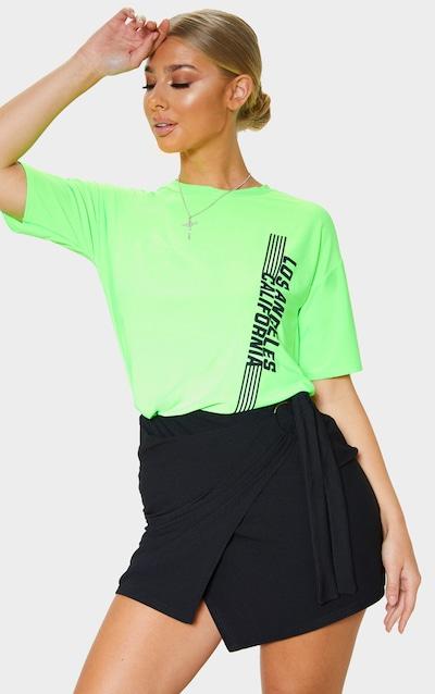 7a032b2660 Black O Ring Wrap Front Mini Skirt