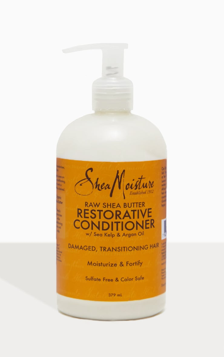 Shea Moisture Raw Shea Butter Restorative Conditioner 4