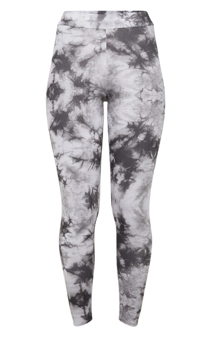 Light Grey Tie Dye Leggings 5