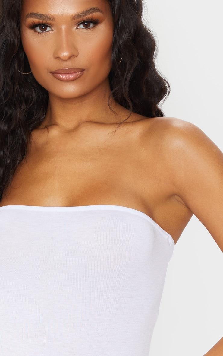 Body bandeau blanc basique 4