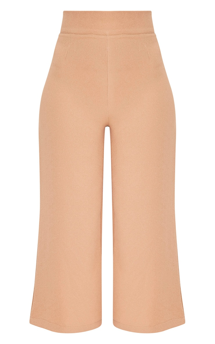 Tazmin Camel High Waisted Culottes 5
