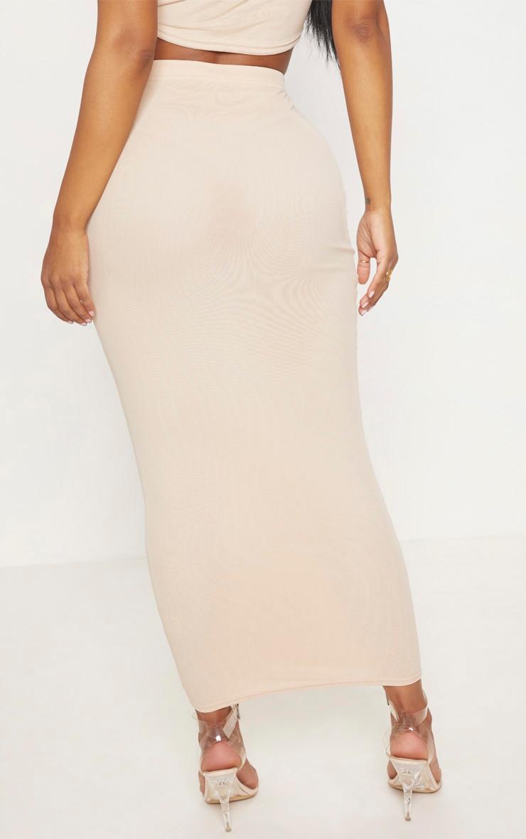 Shape Nude Mesh Midaxi Skirt 4