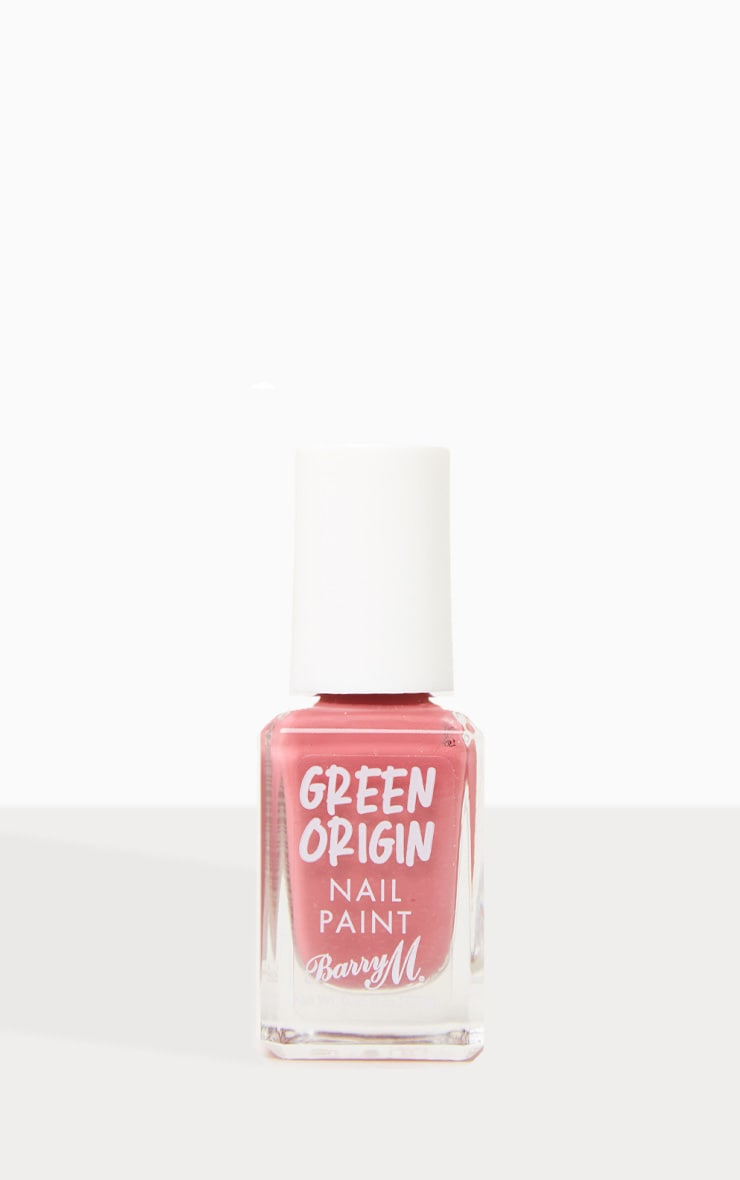 Barry M Cosmetics Green Origin Nail Paint Cranberry 1