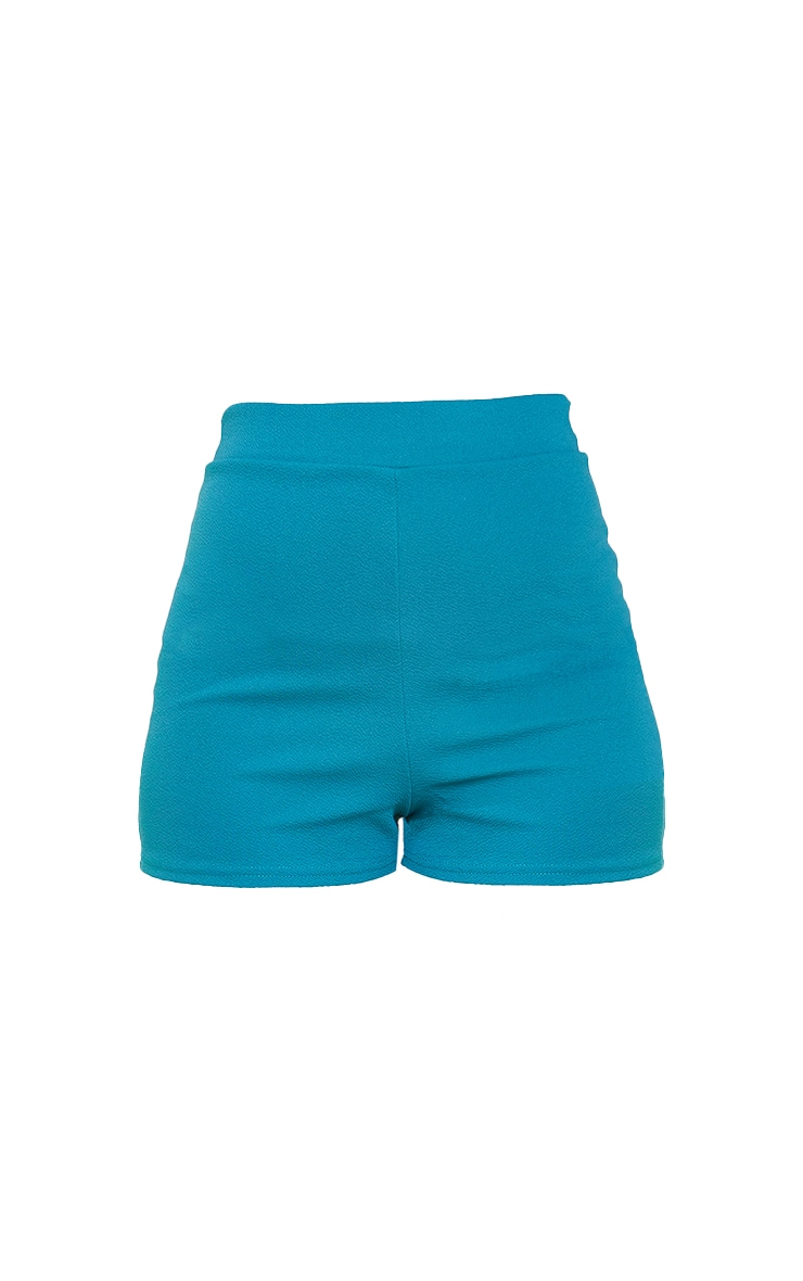Teal Suit Shorts 5