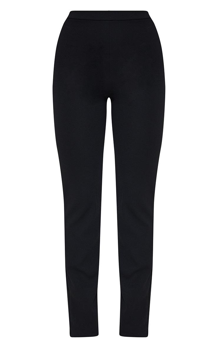 Black Straight Leg Suit Trousers 5