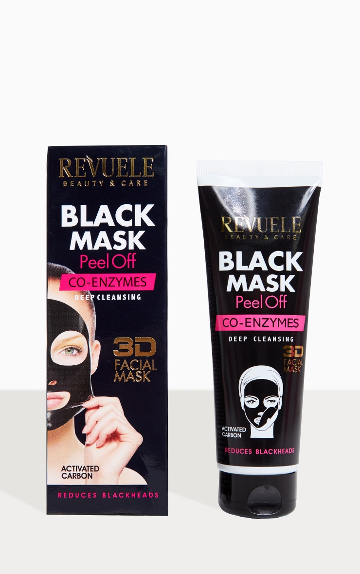 peel of mask black mask