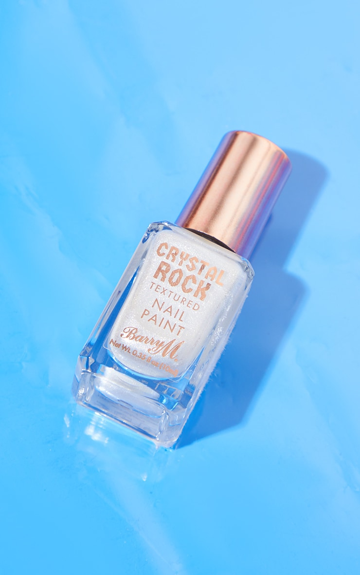 Barry M Crystal Rock Nail Paint White Moonstone 2