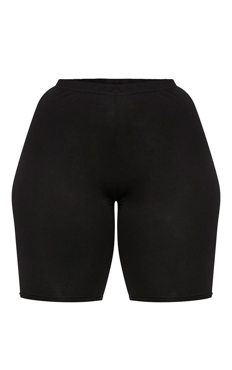 Plus Black Basic Cycle Shorts 3