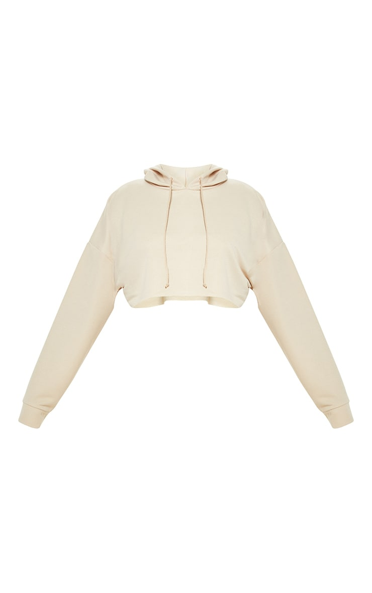 Stone Cropped Hoodie 3