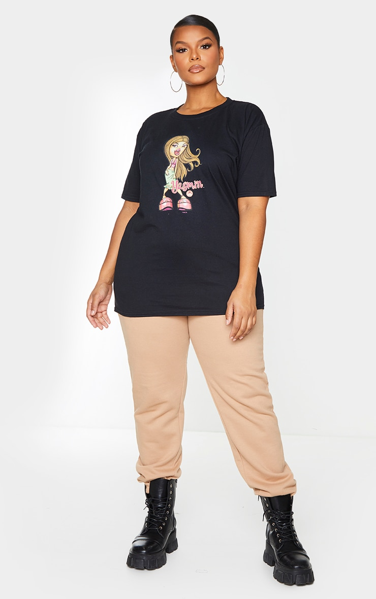 Plus Black Yasmin Bratz T Shirt 3