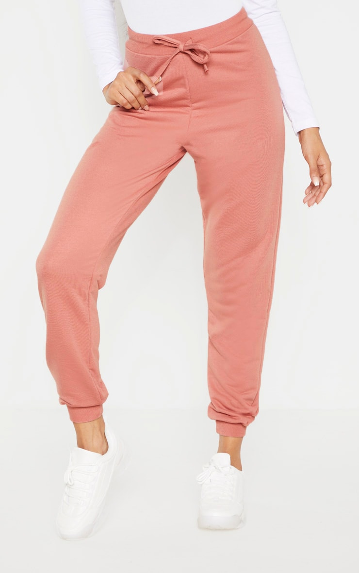 Dusty Rose Ultimate Marl Sweat Joggers  2