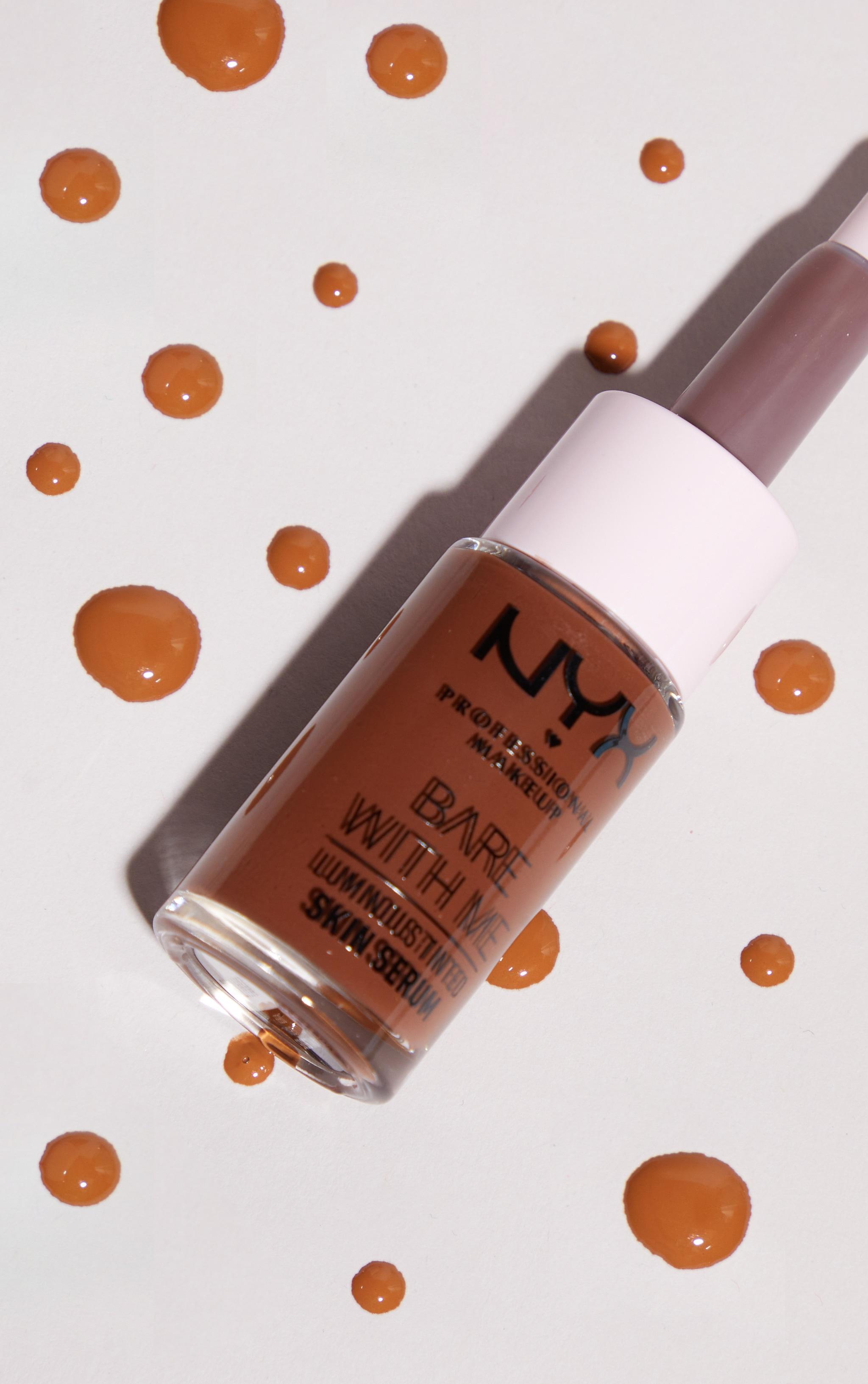 NYX PMU Bare With Me Luminous Tinted Skin Serum Deep 2