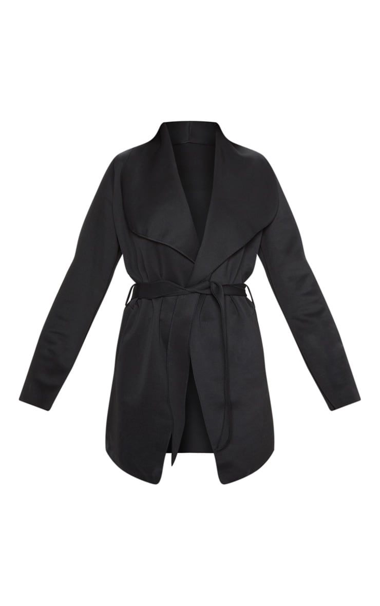 Lyla Black Scuba Waterfall Jacket 3