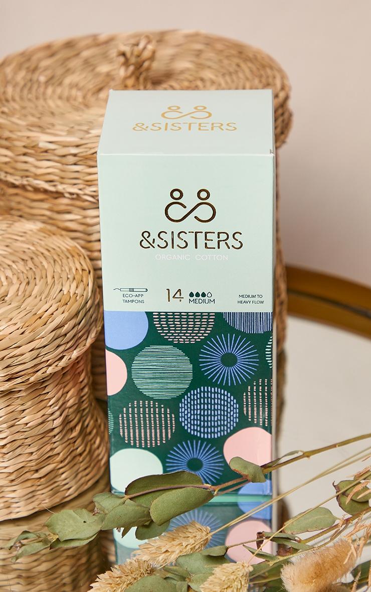 &Sisters - Boîte de 14 tampons Eco-Applicateur pour flux moyens 2