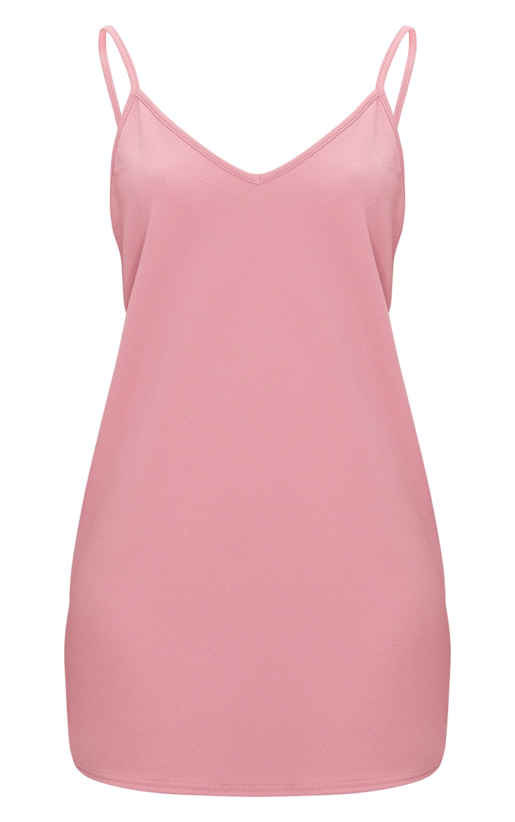 Rose Strappy Detail Backless Cami Dress 3