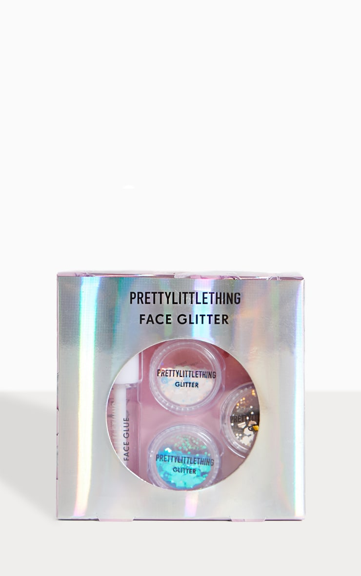 PRETTYLITTLETHING Mermaid Face Glitter Kit 1