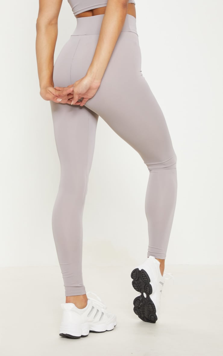 Grey Basic Gym Legging 4