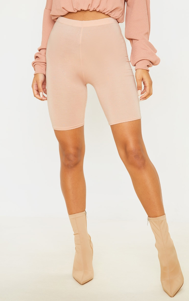 Basic Nude Cycle Shorts 2