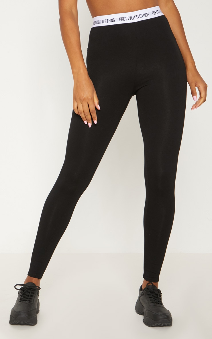 PRETTYLITTLETHING Black Leggings 2