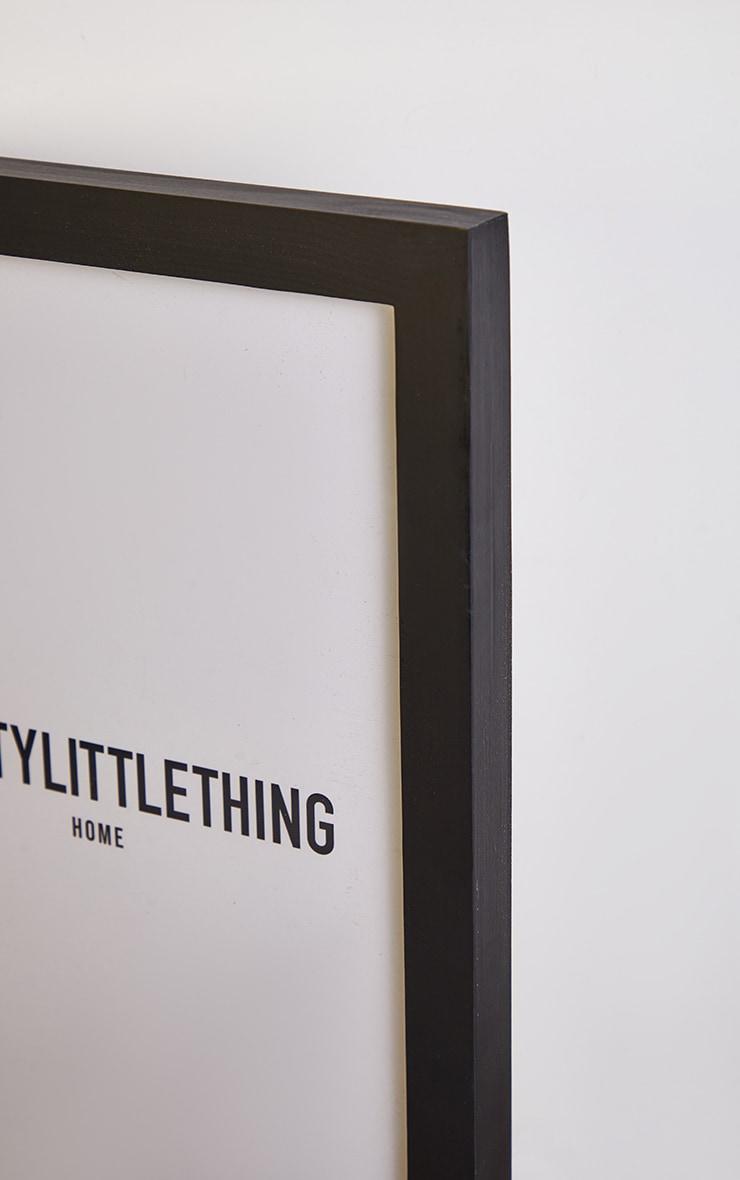 PRETTYLITTLETHING Black A4 Frame 4