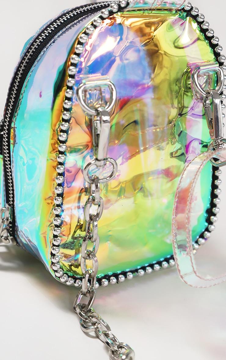 Rainbow Ball Chain Border Mini Backpack 3