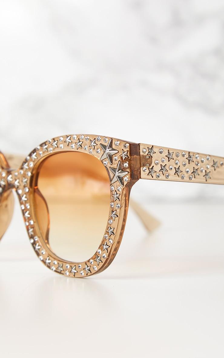 Yellow Star Stud Sunglasses 3