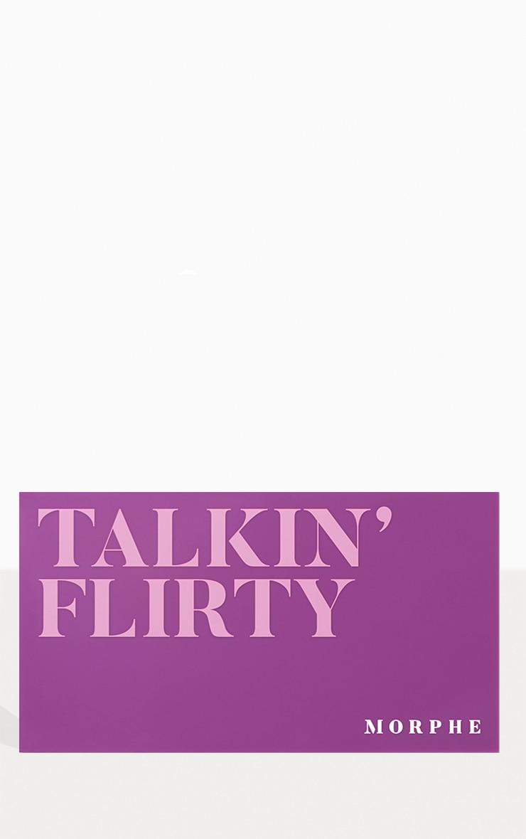 Morphe 18F Talkin' Flirty Artistry Eyeshadow Palette 2