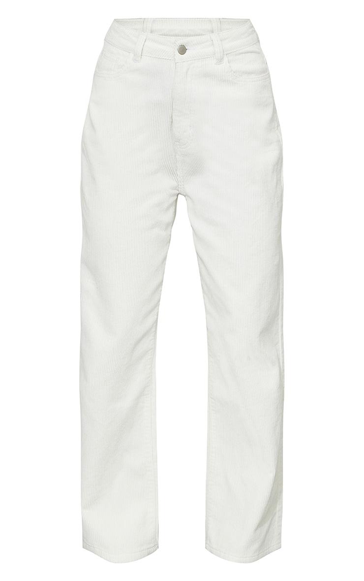 White High Waist Baggy Boyfriend Jeans 5