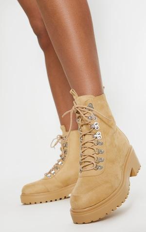 7755e7900d4 Sand Chunky Sole Hiker Boot