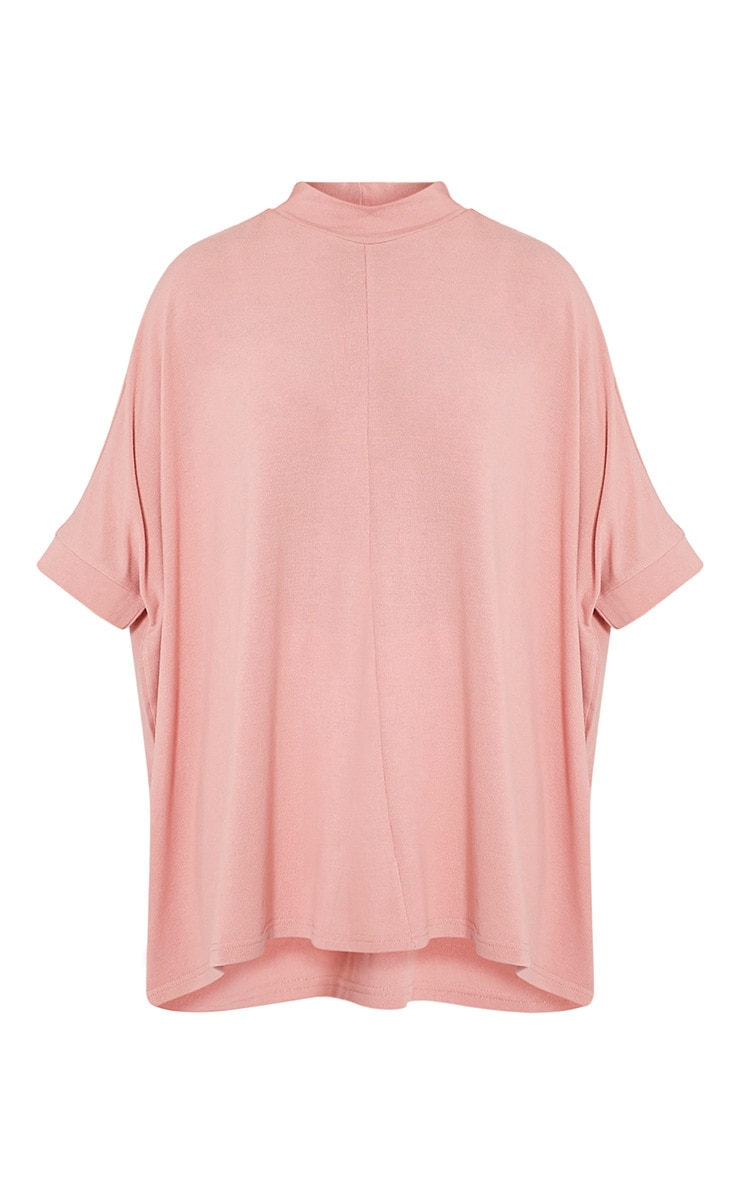 Lottia Blush Oversized Batwing Jumper 3