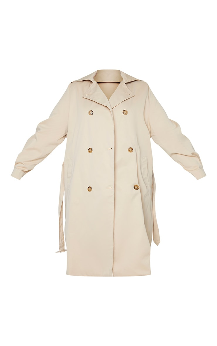 Plus Stone LightWeight Belted Trench Coat 5