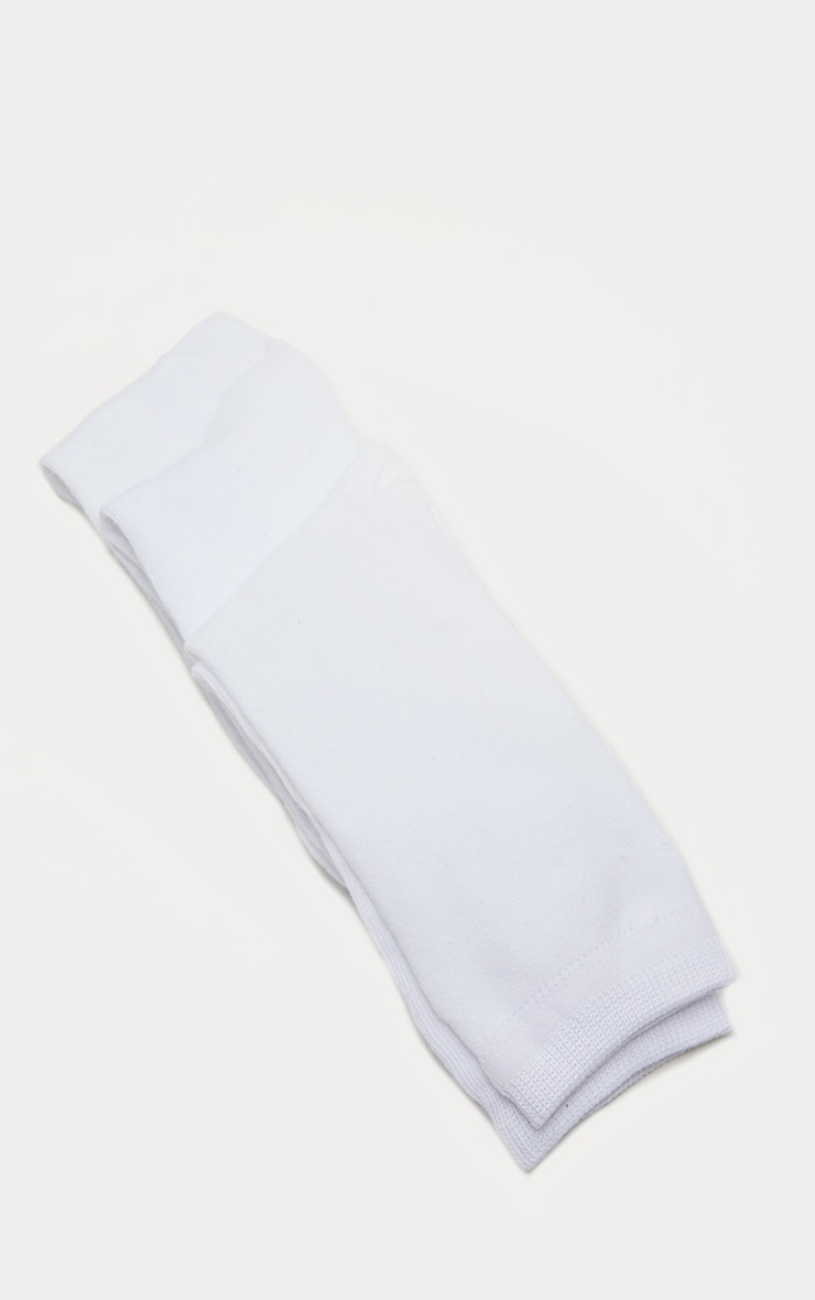 White Plain Socks 3 Pack 3