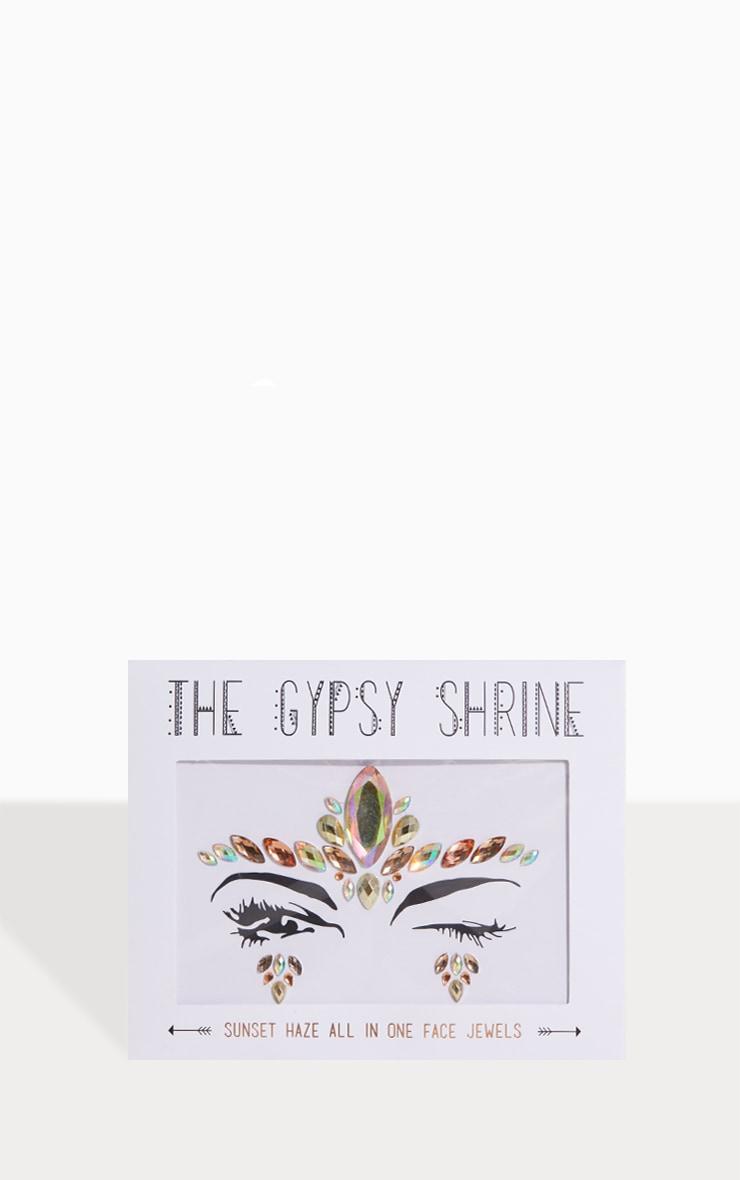 The Gypsy Shrine Sunset Haze Face Jewel 1