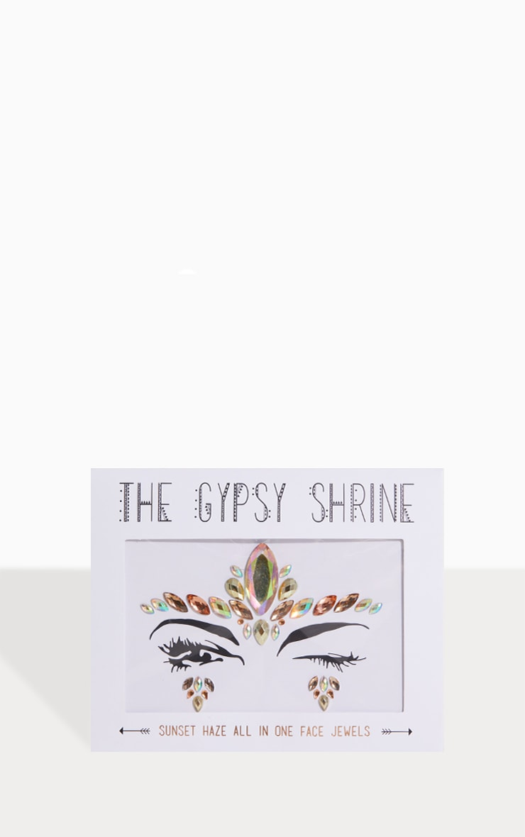 The Gypsy Shrine - Bijoux de visage Sunset Haze