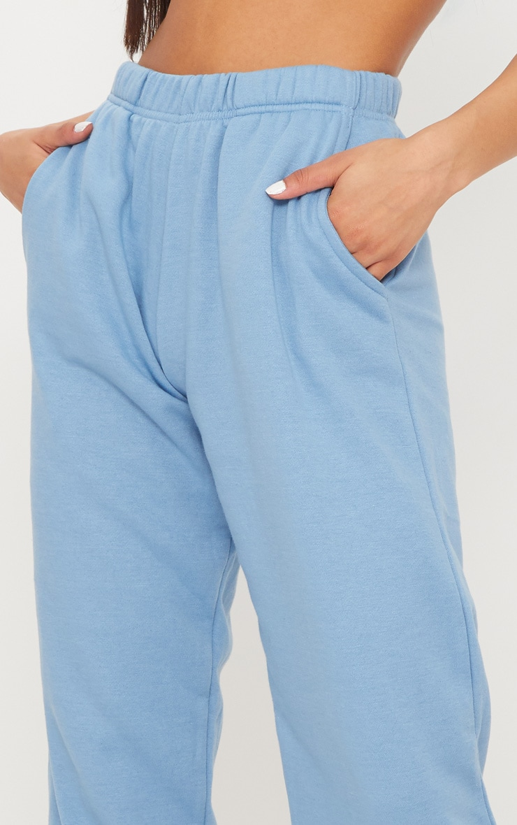 Dusty Blue Casual Jogger 5