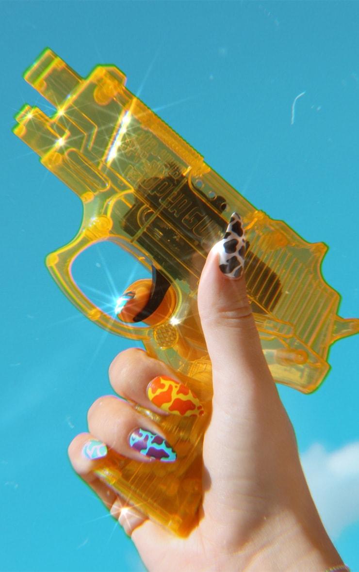 SHRINE X Alice Mc Cow Print Stick On Nails 3