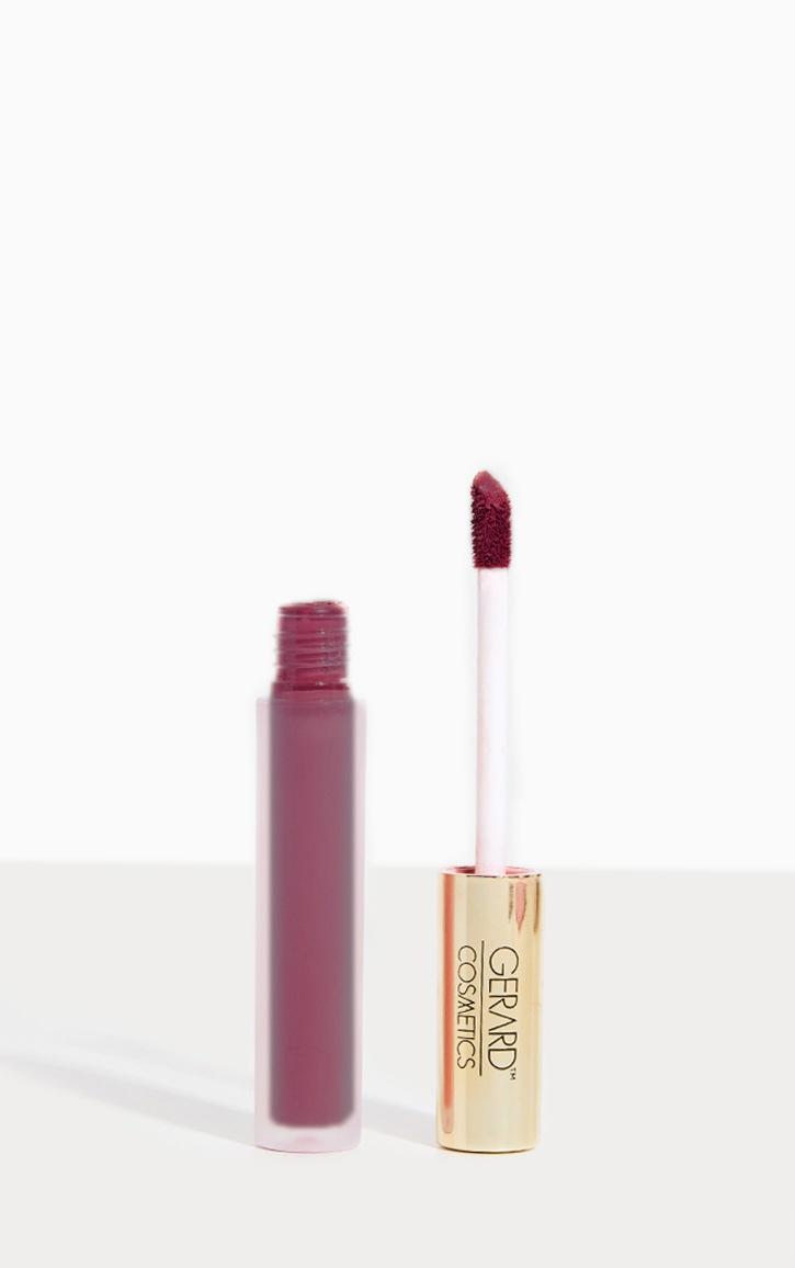 Gerard Cosmetics Hydra Matte Liquid Lipstick Ruby Slipper 1