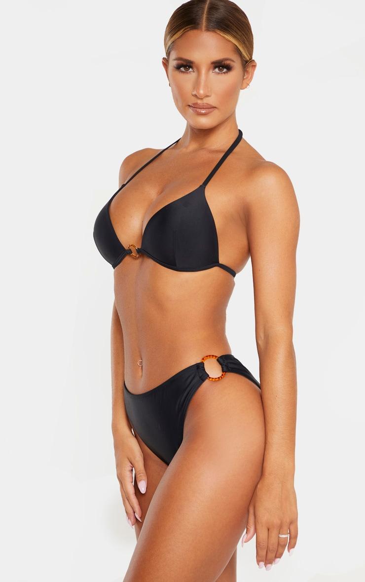 Black Tortoise Ring Bikini Bottom 2