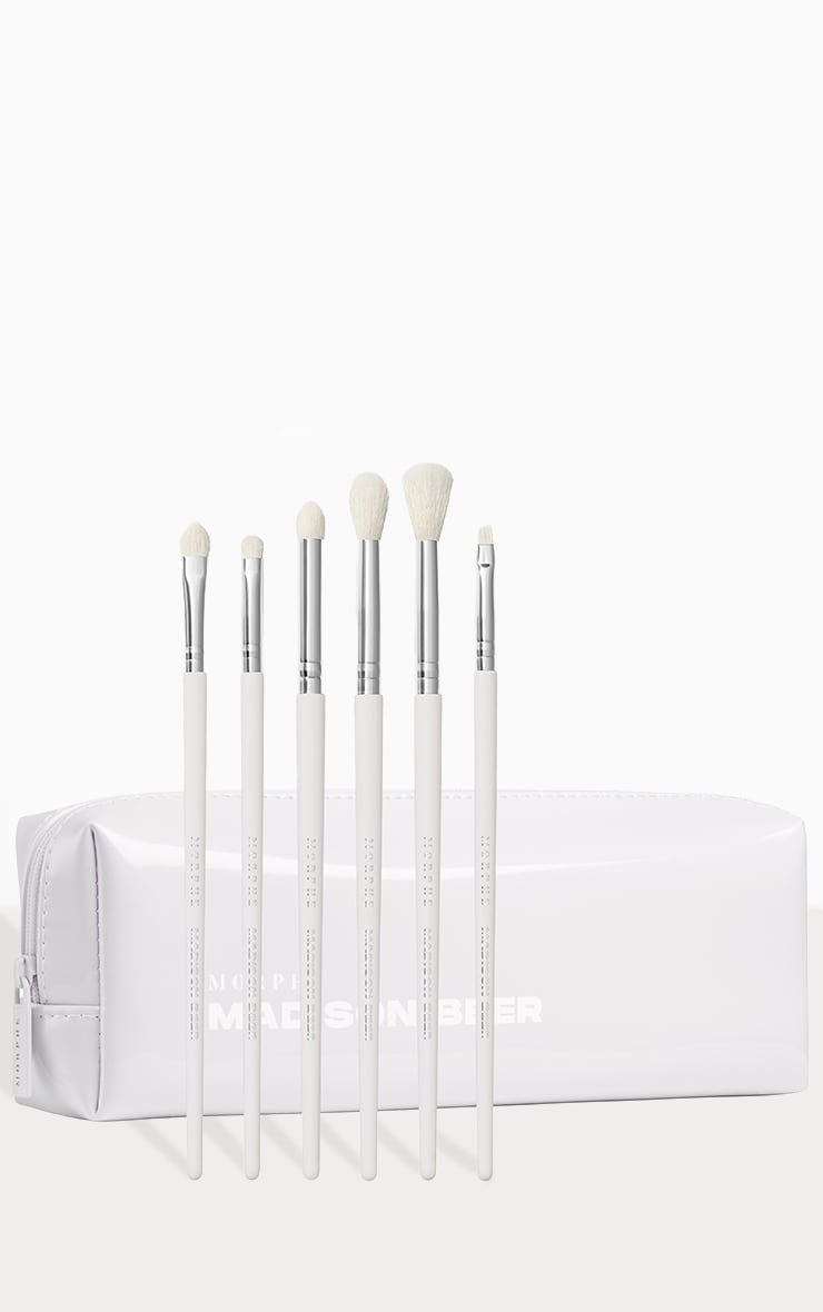Morphe Madison Beer Channel Surfing 6 Piece Eye Brush Set 2