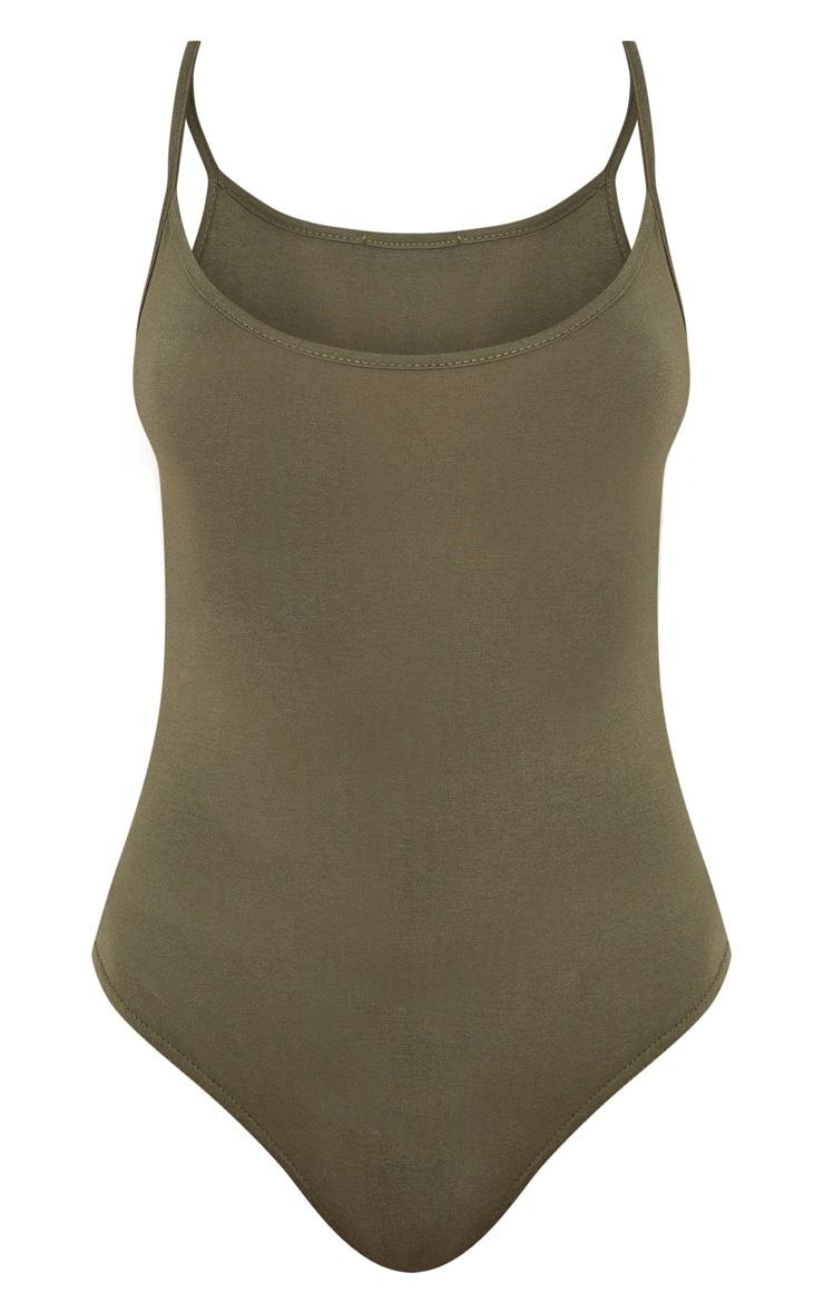 Basic Khaki Bodysuit 3