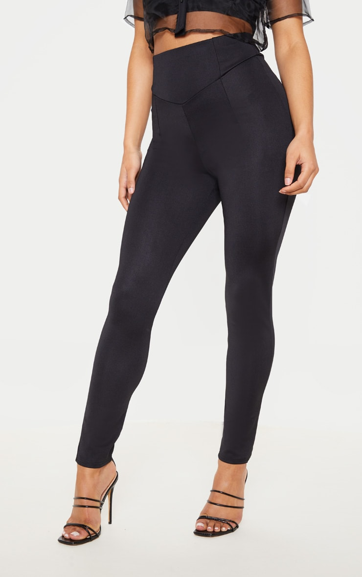 Black Body Shaping High Waist Legging 2