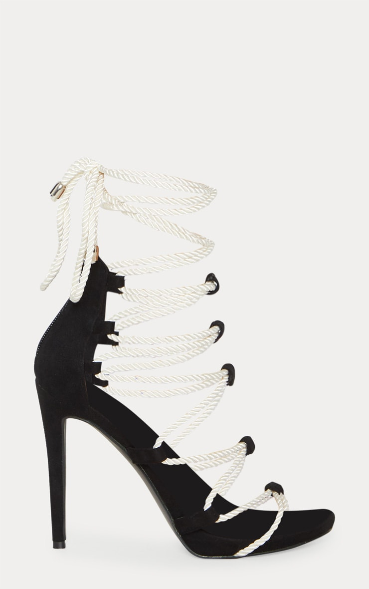 Mono Ghillie Tassel Rope Strappy Sandal 3