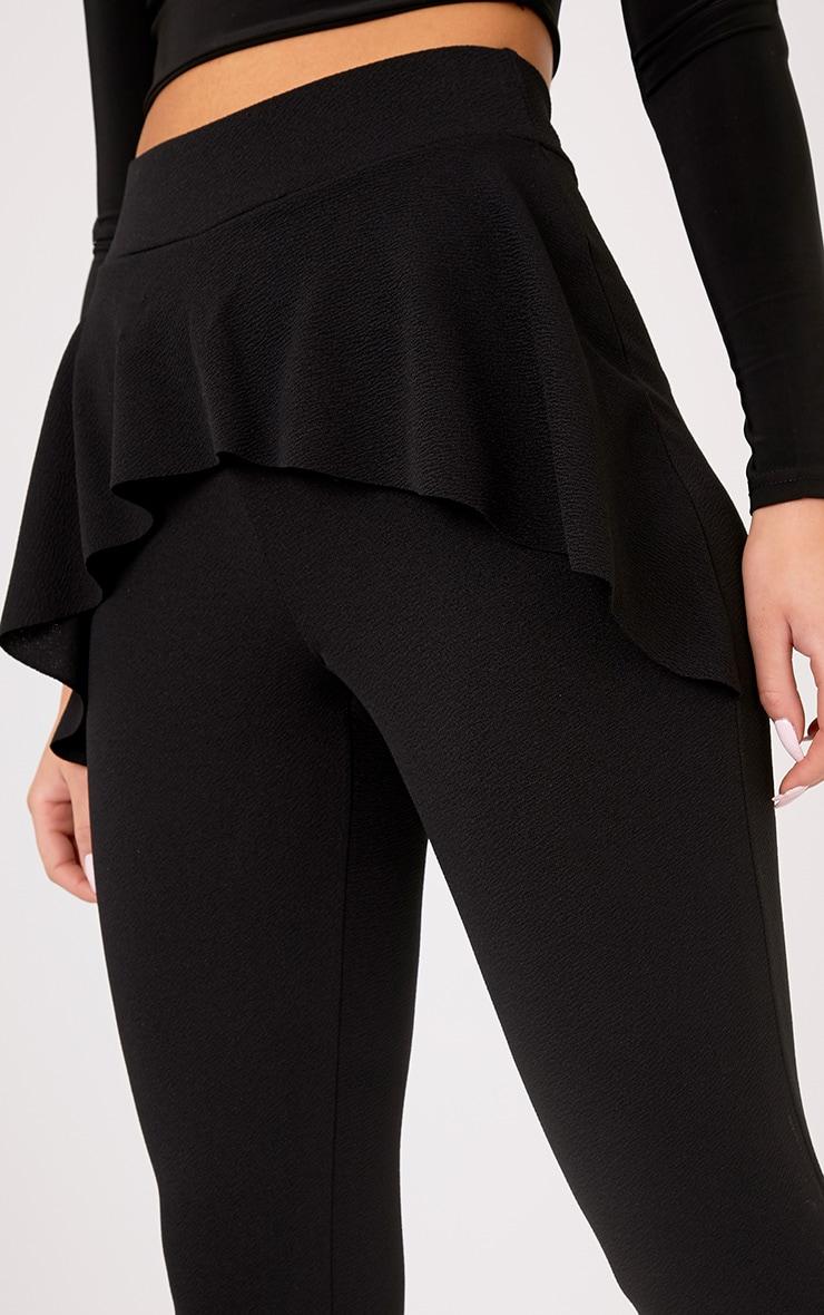 Lakesha Black Frill Waist Trousers 5