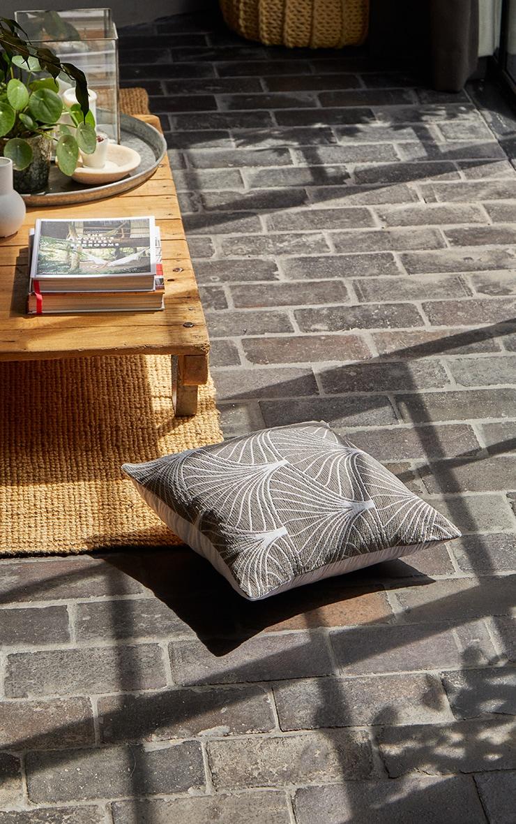 Grey Palermo Cushion Cover 1