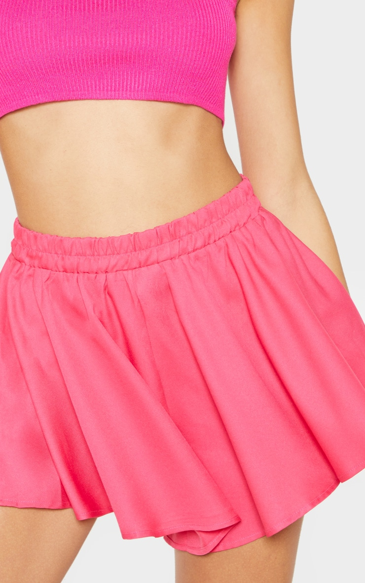 Hot Pink Floaty Shorts 5