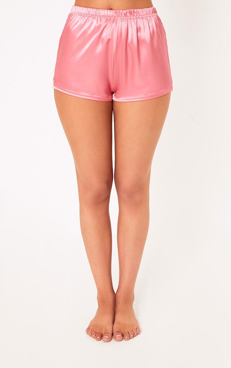 Issie Rose Satin Pyjama Shorts Set 4