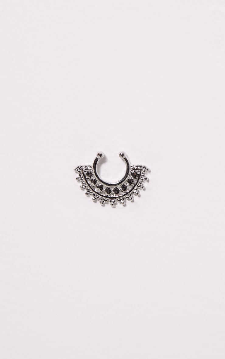 Fawn Silver Faux Septum Ring 3