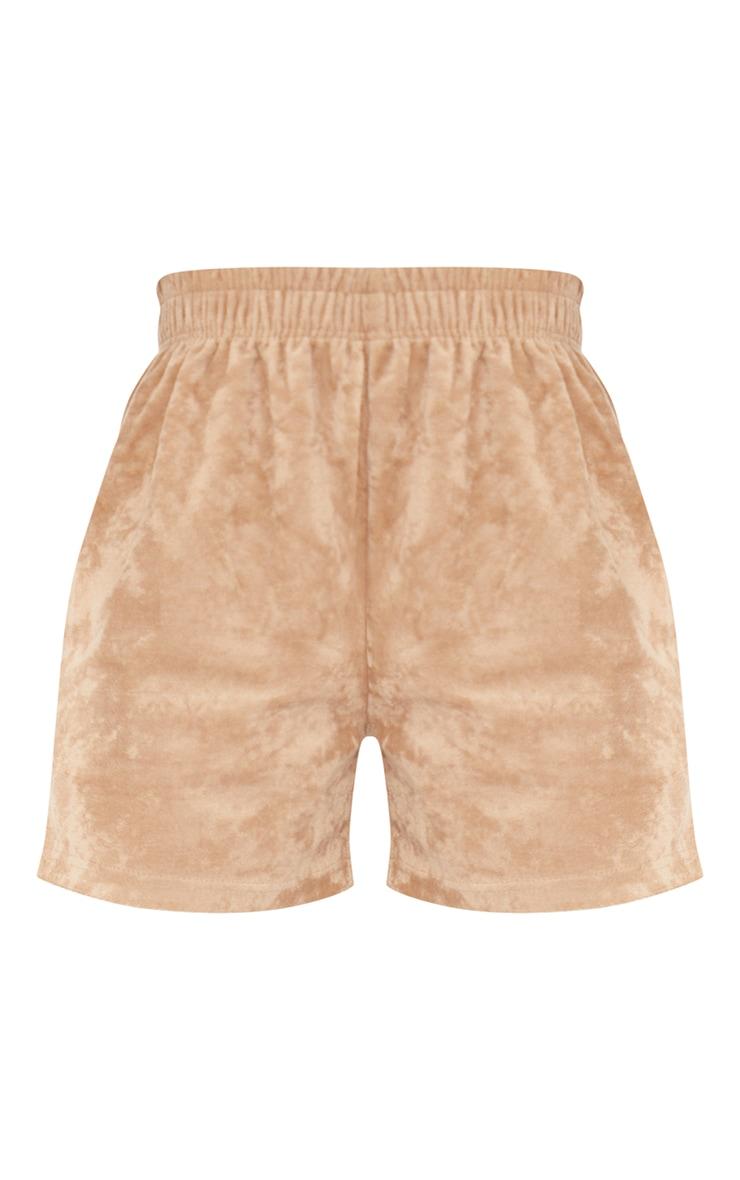 Tall Stone Velour Oversized Sweat Shorts 6