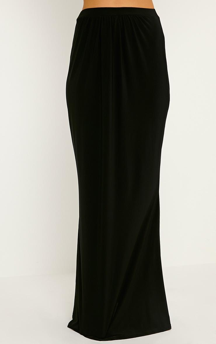 Dalia Black Maxi Skirt 2