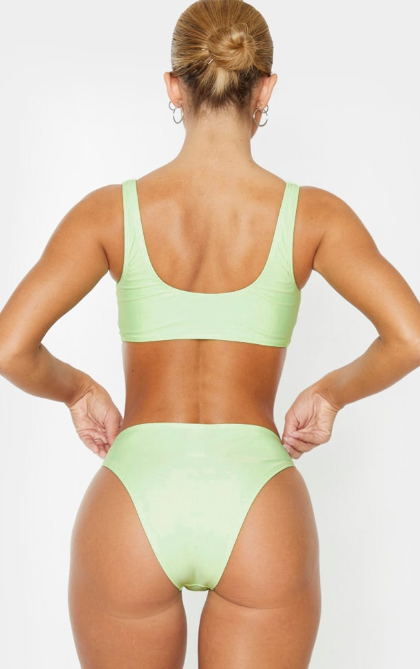 Mint Mix & Match Cheeky Bum Bikini Bottom 4